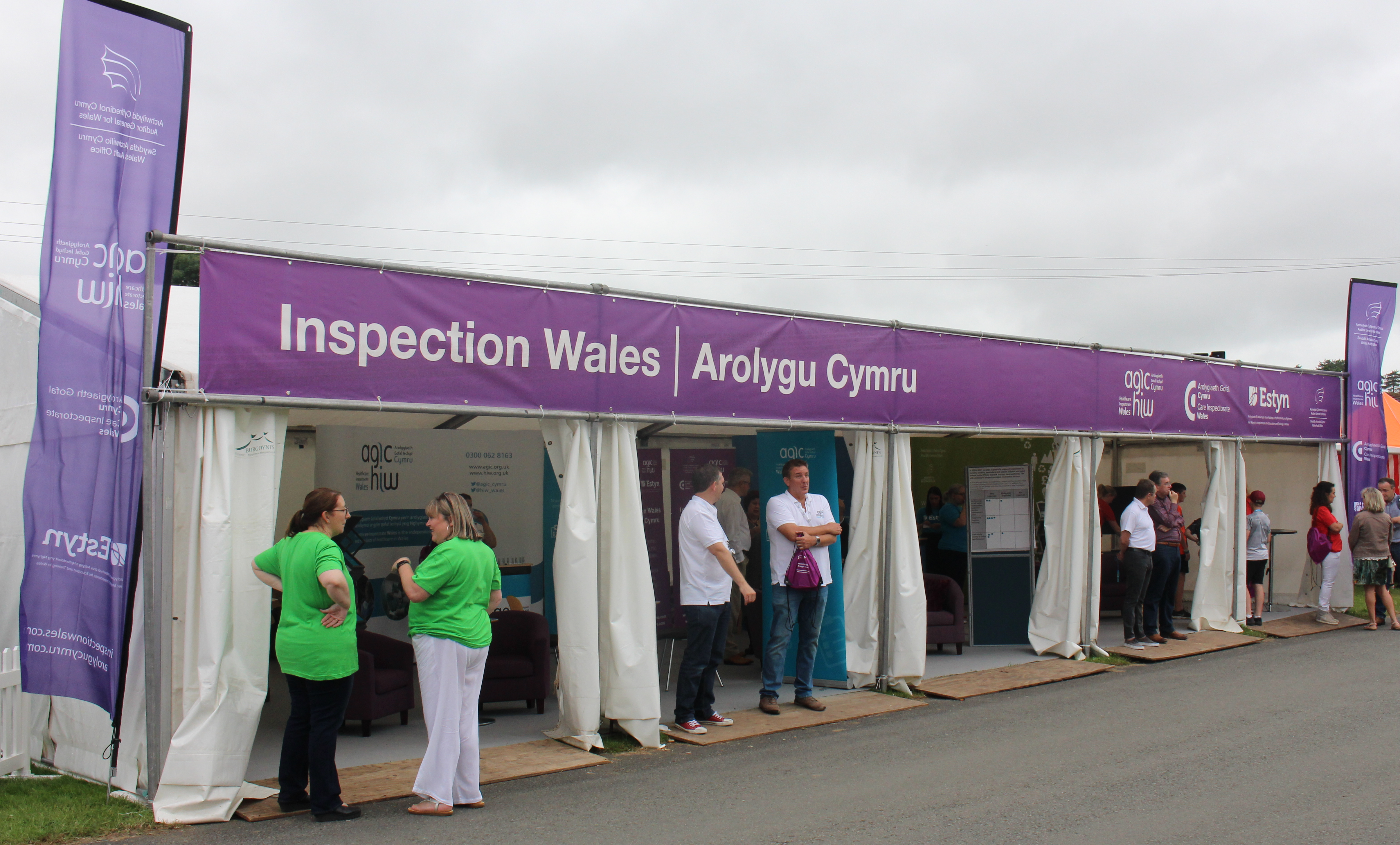 Inspection Wales stand